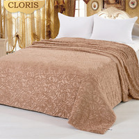CLORIS Throw Soft Fluffy Blanket best Good Quality Bedspread Sofa Blankets Throws For Bed Home Textile Portable Washing Machine