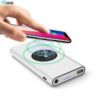 PINENG Ultra Thin Mobile Power Bank 10000 MAh Dual USB External Backup Battery Portable Universal Phone