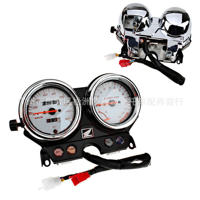 Motorcycle Gauges Cluster Speedometer Tachometer Odometer Instrument Assembly for honda VTR250