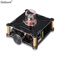 LeeSound H5 HiFi Class A 12AU7 Tube Headphone Kit Amplifier Stereo Pre Amp hifi devices