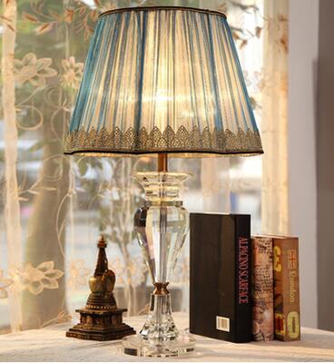 Европейский кристалл настольная лампа. Спальня ночники. Креативные Свадебные лампы.