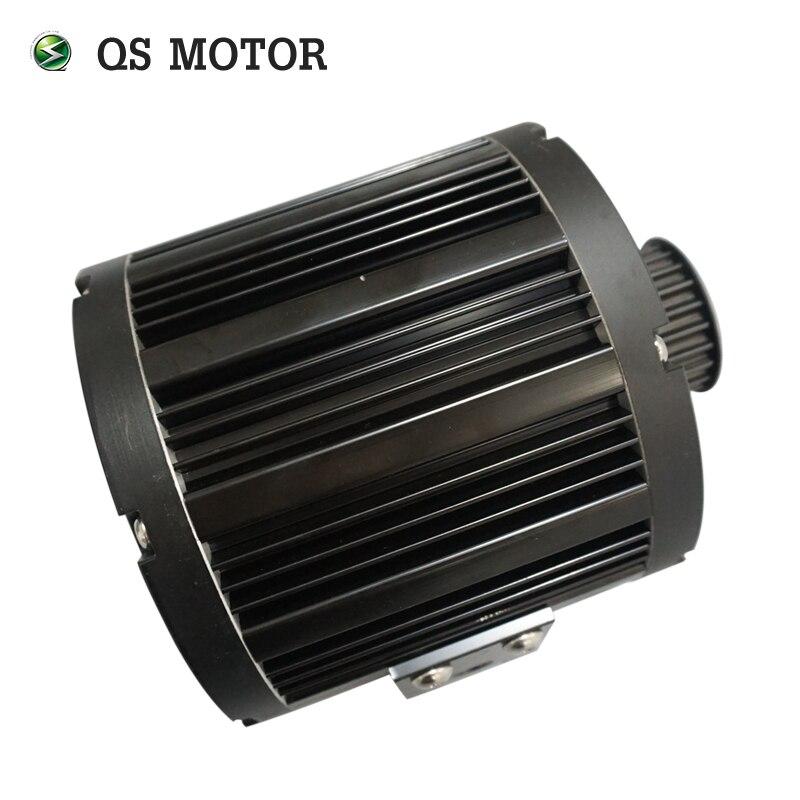 QSMOTOR, motor de tracción media de 3000W, 138 70H, velocidad máxima de 100kph para patinete eléctrico Z6