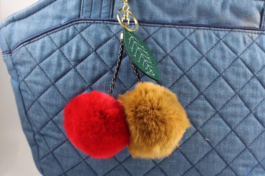 Fur Ball Keychain 07