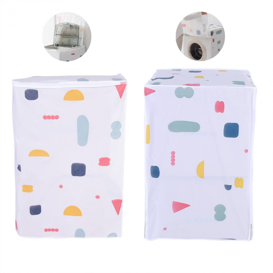 Waterproof Washing Machine Zipped Cover Dust Protection