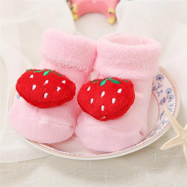 Baby Socks Strawberry