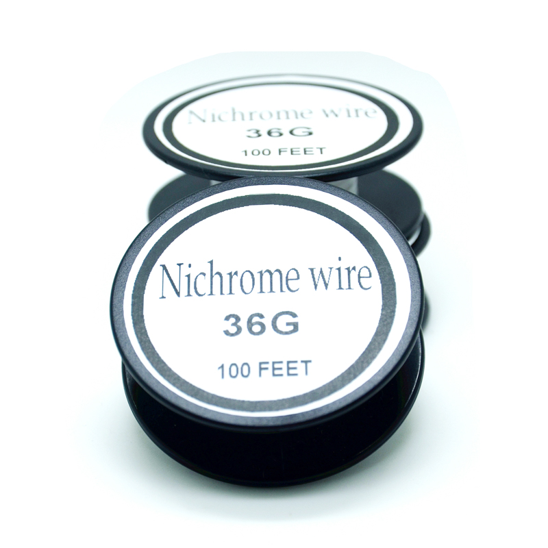 Nichrome wire 36 Gauge 100FT 0.1mm Cantal Resistance Resistor AWG ...