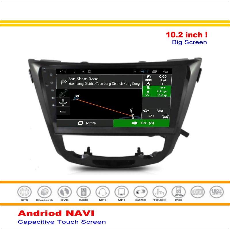 Coche Android Sistema de Navegación GPS Para Nissan X-trail/Rogue 2013 ~  de Rad