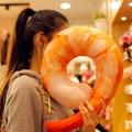Творческий simulational плюшевые креветки круассаны хлеб чили П-образный подушка для шеи плюшевые сон подушка подарок на день рождения