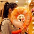 Criativo simulacional pelúcia camarão croissants pão pimentão U-em forma de travesseiro de pescoço de pelúcia presente de aniversário cochilo travesseiro