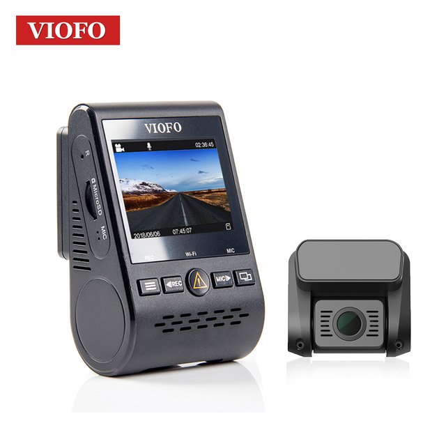 VIOFO A129 Front DVR 5GHz Wi-Fi Full HD Sony Starvis Dash Camera Optional GPS Rear Camera