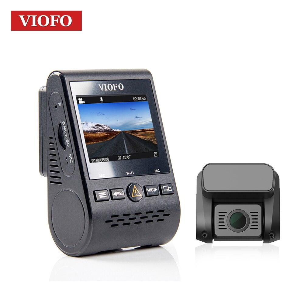 Viofo A129 спереди DVR 5 ГГц Wi-Fi Full HD sony starvis тире Камера дополнительно gps сзади Камера