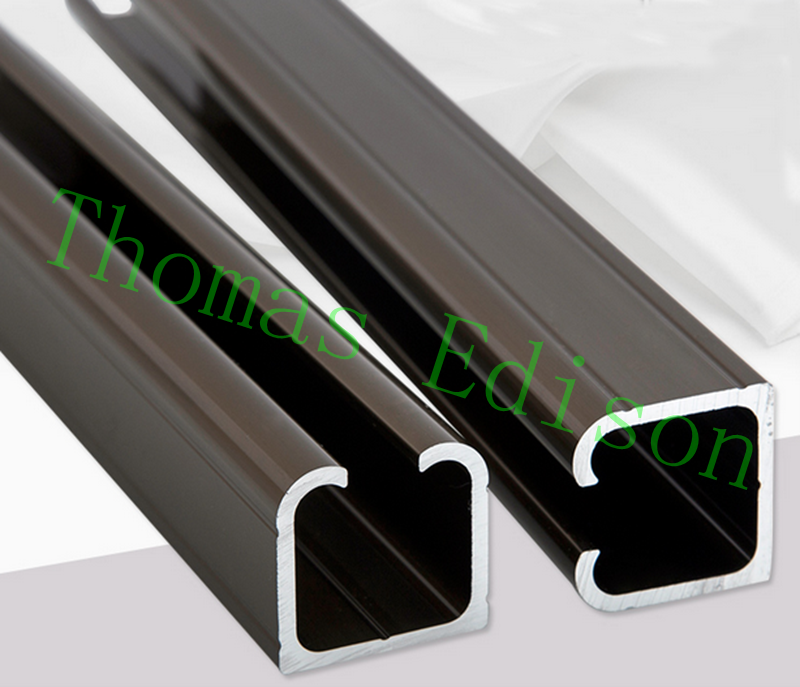 quality 100 3 4 sliding door rail and hanging rail