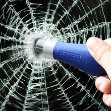 Автомобильный молоток безопасности Мини Автомобильный многофункциональный брелок для ключей аварийный оконный выключатель ленточный резак спасательный Молот одна секунда сломанное окно