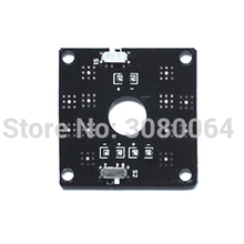 цена на CC3D PDB power distribution board PCB for FPV QAV250 integrated dual switch to control the led