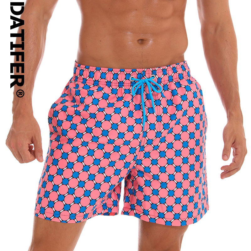 Datifer Summer Mens   Board     Shorts   Quick Dry Mens Swim   Shorts   Surf Swimwear Beach   Short   Male Athletic Running Gym   Short   Man