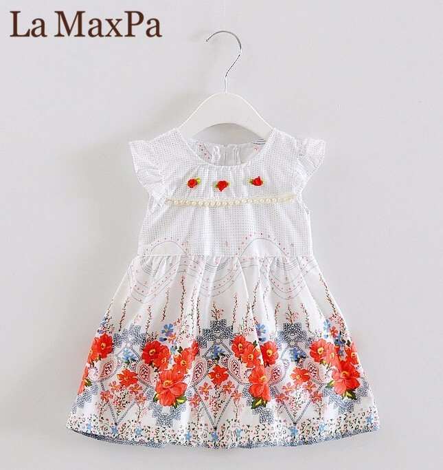 Girl Princess Dress 2018 New Fashion Brand Children Girls Dress Hot Sale Baby Kids Clothing Set free shipping