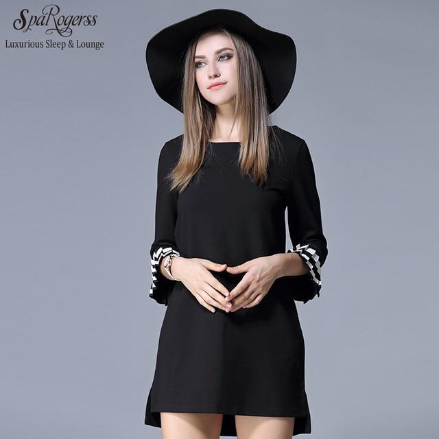 aliexpress : buy 2017 sparogerss new autumn women dress round