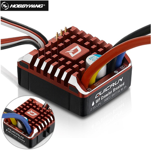 Hobbywing QuicRun 1:10 1/8 WP Crawler Brush Brushed 80A 1080 Electronic Speed Controller Waterproof ESC With Program box LED BEC(China)