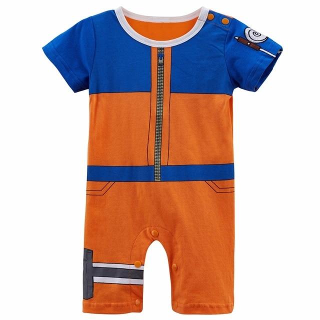 3eda116de87d Baby Boy Uzumaki Naruto Costume Romper Funny Cute Infant Playsuit 0 ...
