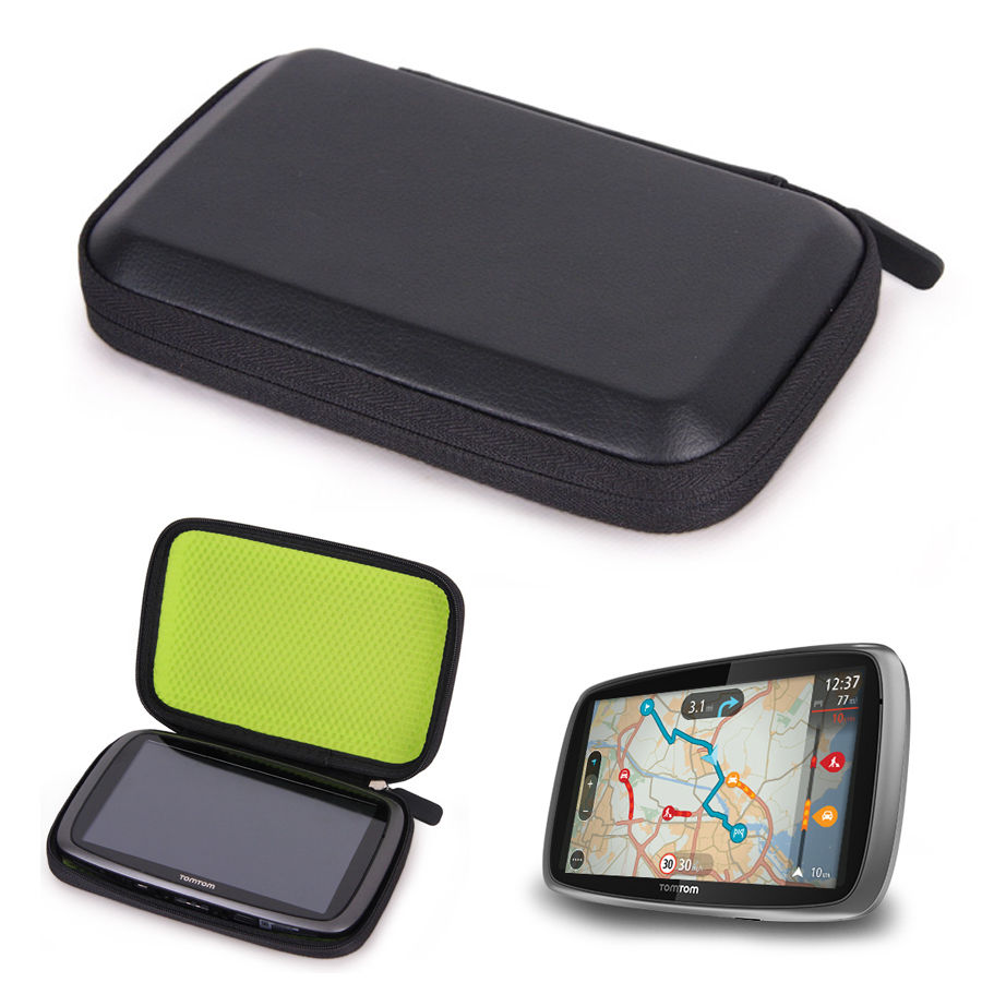 navigation gps car sat nav comfort anti shock carry case for 6 tomtom go 6100 go 610 go 6000. Black Bedroom Furniture Sets. Home Design Ideas