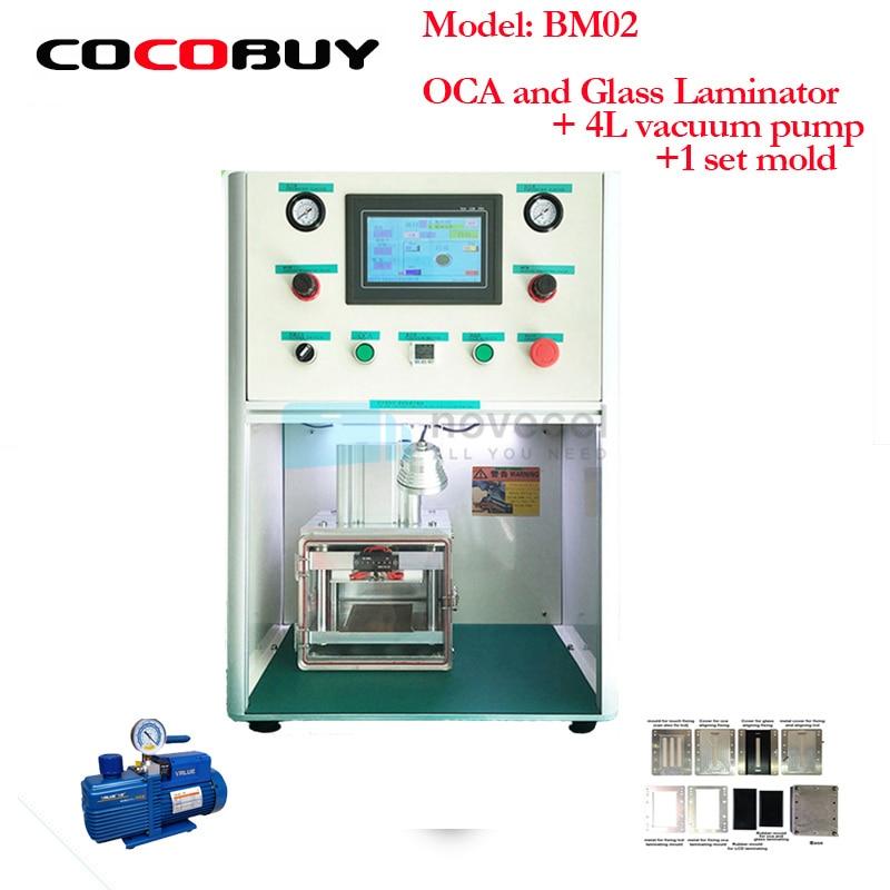 NOVECEL BM02 LCD Screen laminating Machine /vacuum Laminator for Cell Phone LCD Refurbish for Samsung and iphone