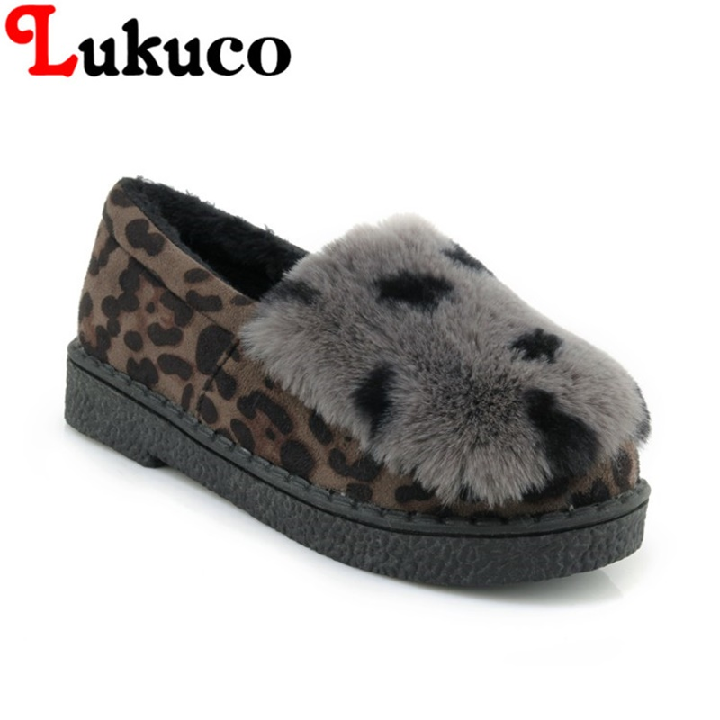 2018 plus size 41 42 43 44 45 Lukuco LADY SHOES round toe women boots cute design high quality WARM WINTER shoes FREE SHIPPING