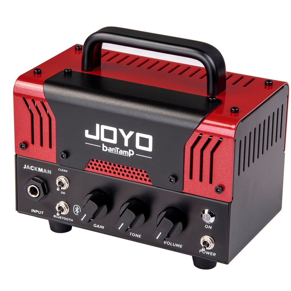 JOYO banTamP 20W Small Monsters Bluetooth Electric Bass Guitar Amplifier Head Dual Channel Preamp Tube Amplifier