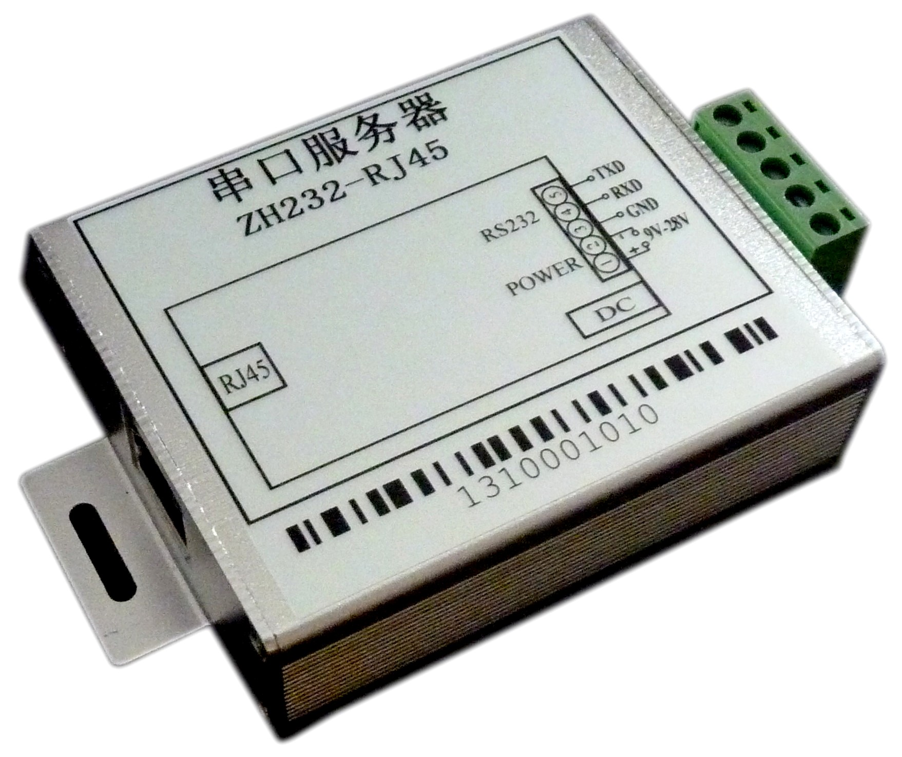 Serial Port Server Virtual Serial Port Ethernet Module ZH232-RJ45 RS232/RS485 Switch Network rs232 serial port to ethernet server two way transparent transmission rs232 serial server