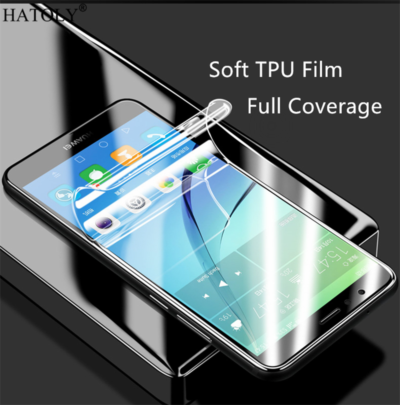 Soft TPU Nano Film Foil for Huawei Honor 7A Pro Screen Protector for Huawei Honor 7A 7A Pro Full Cover Film Not Glass HATOLY