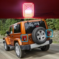 1 Set Car Styling LED Tail Lamp Rear Light Turn Signal Brake Reverse Auto Accessories For