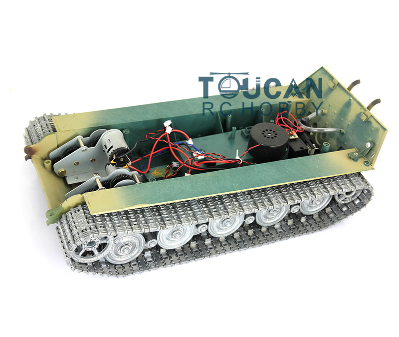 HengLong 1/16 Scale King Tiger RC Tank 3888A Chassis W/ Metal Tracks Wheels mato sherman tracks 1 16 1 16 t74 metal tracks