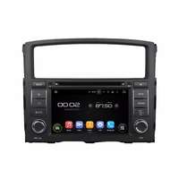 Octa Lõi 2 GB RAM Android 6.0 Car DVD GPS Navigation Multimedia Stereo Player Xe cho Mitsubishi PAJERO 2006-2012 Đài Phát Thanh Headunit