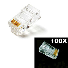 Free shipping UPS EMS DHL RJ45 RJ45 Connectors Modular 100 PlugsBoots CAT5 used in good condition 1336 sn sp8a 74101 367 51 with free shipping dhl ems