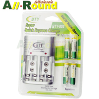 NEW Cheaper BTY 1 2V AAA 4 1350mah Rechargeable Ni MH Battery BTY 802 AA AAA