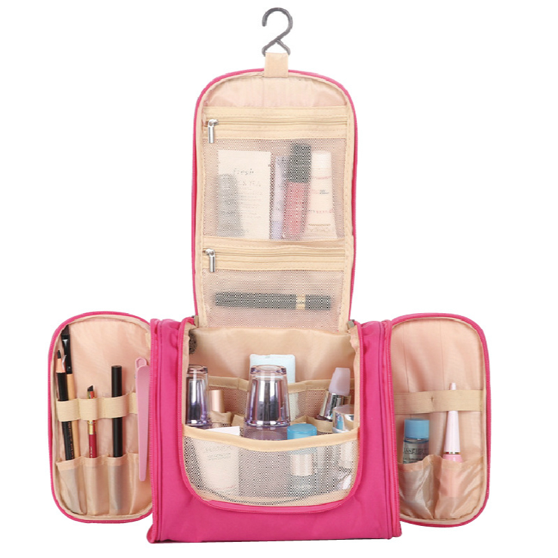 Women Cosmetic Bags 2018 New Fashion Women Cosmetic Cases Waterproof Make Up Bags Female Large Organized Bag for Make Up Tools