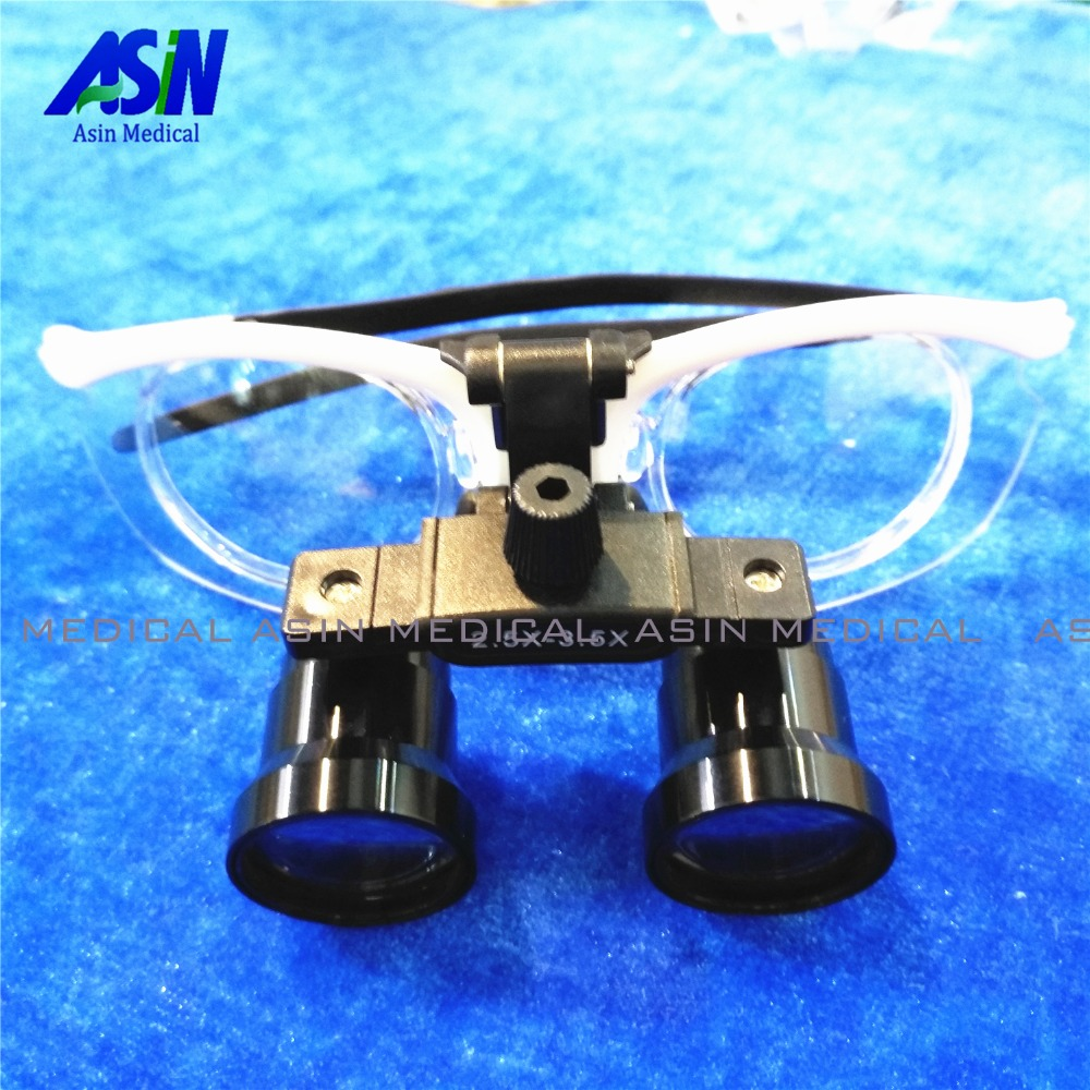 Brand new Adjustable magnification from 2.5x to 3.5x  Dental Loupes  Magnifier with Surgical Magnifying GlassesBrand new Adjustable magnification from 2.5x to 3.5x  Dental Loupes  Magnifier with Surgical Magnifying Glasses
