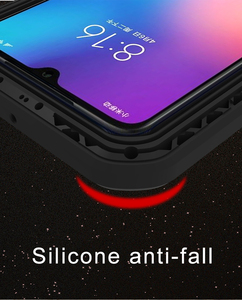 Image 3 - For Xiaomi Mi9 Explorer Case LOVE MEI Shock Dirt Proof Water Resistant Metal Armor Cover Phone Case for Xiaomi Mi 9 6.39 inch
