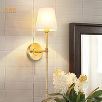 Veayas Free Shipping Modern wall light fashion wall Golden Modern wall lamps crystal golden Luxury sconce