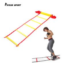 Top Quality 20 section 10 meters long Soccer Training Agility Speed Ladder + Carry Bag недорого