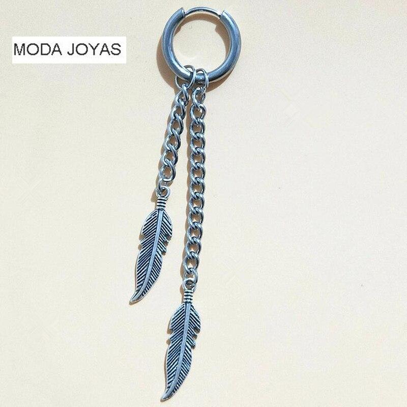 1pcs Long Tassel Feather men bts Earrings Fashion Jewelry boucle doreille Women Brincos Bohemian One Direction NEW Arrival