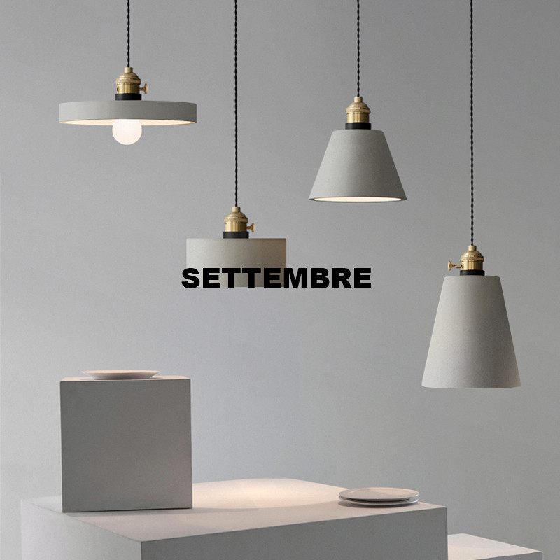 Pendant Lighting For Home Cement Lamp Modern Pendant Lights Nordic Suspension Vintage Light Kitchen Industrial Retro eiceo nordic ancient art cement resin creative pendant lamp minimalist retro cement lampshade for indoor cafe bars decor light