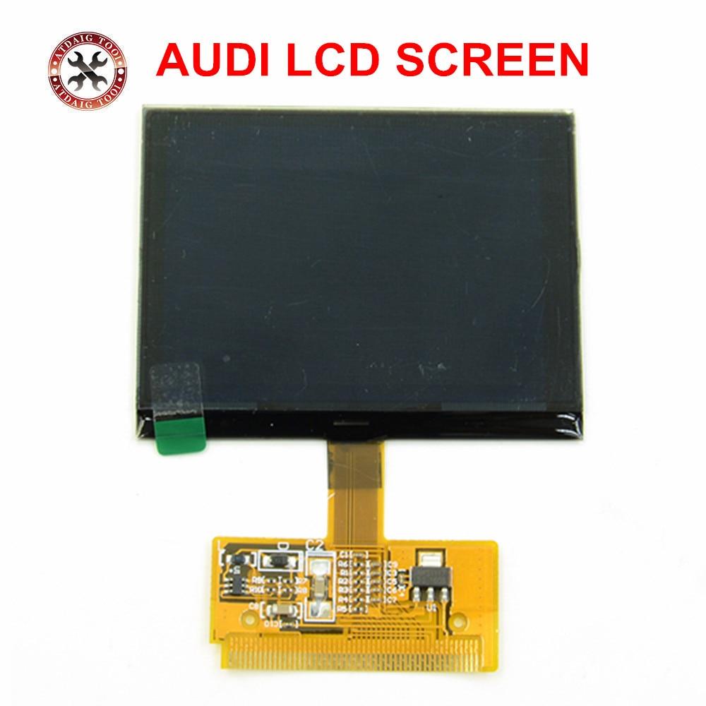 Para Audi LCD Display A3 A4 A6 S3 S4 S6 para VW VDO para Audi VDO LCD clúster en stock ahora panel píxel reparación