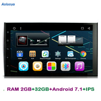 Aoluoya IPS RAM 2GB+32GB Android 7.1 CAR DVD Player For Porsche Cayenne 2003 2007 2008 2009 2010 Radio GPS Navigation Multimedia