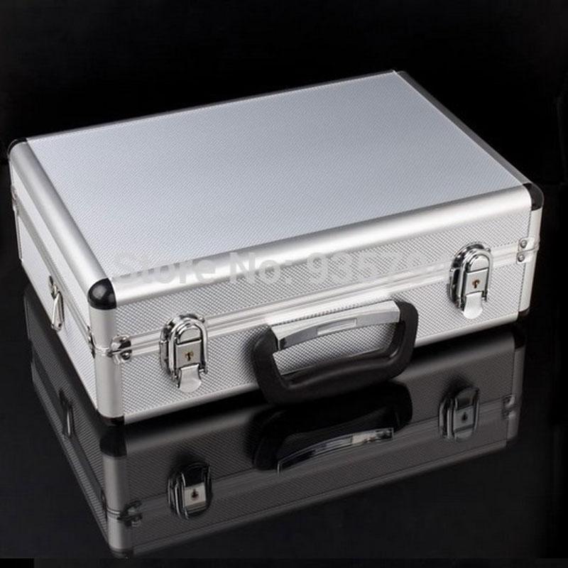 Transmitter aluminium box equipment box remote control alu case for JR FUTABA WFLY KDS ESKY Walkera