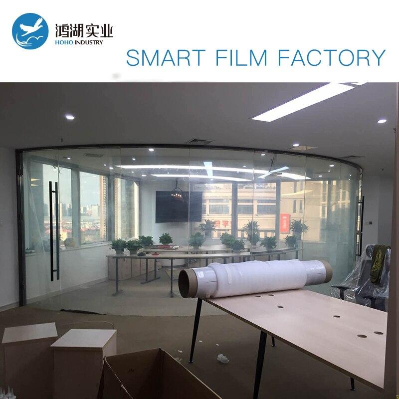 Sunice 1685mmx485mm customized Privacy Magic Film Building /Automobile window tint Magic smart film