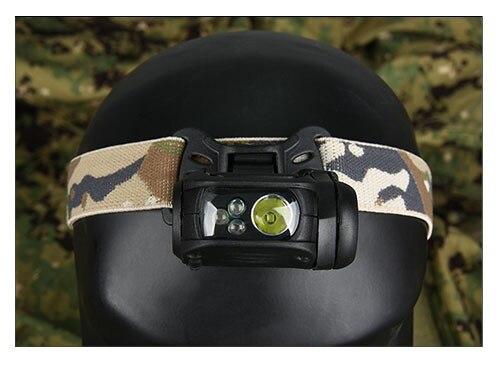 Nuevo Tactical Modular Personal Sistema de Iluminación Luz Principal para la Caz