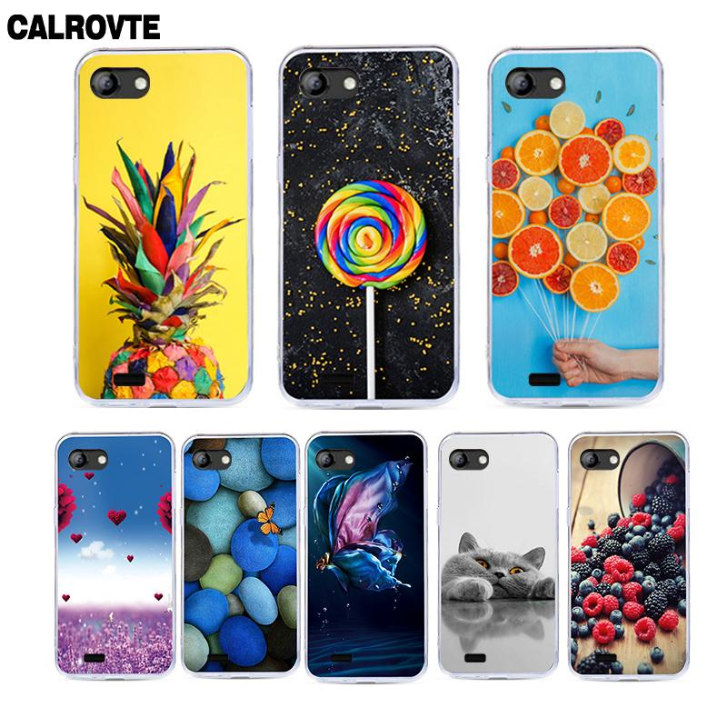 CALROVTE Cartoon Silicone Phone Case For Vertex Impress Luck Soft TPU Painted Back Cover For Vertex Impress Luck 5.0 inch CasesCALROVTE Cartoon Silicone Phone Case For Vertex Impress Luck Soft TPU Painted Back Cover For Vertex Impress Luck 5.0 inch Cases