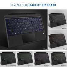 Megoo superficie Pro 6 cubierta de tipo delgado teclado Bluetooth inalámbrico con Touchpad para Microsoft Surface Pro 6/4/ 3/5/nueva superficie Pro(China)