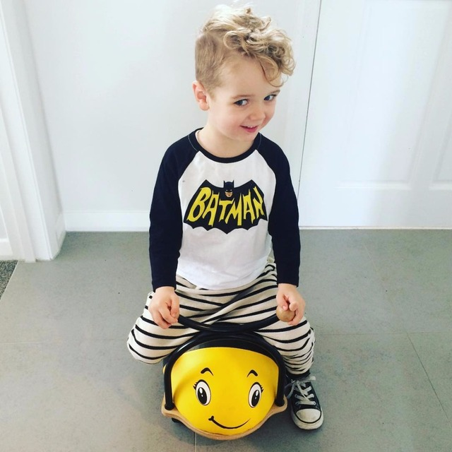 2016 kids batman t shirt for boys autumn long sleeve children clothes costume boys polo shirt camiseta menino tee shirt garcon