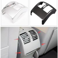 Yimaautotrims Interior Armrest Box Rear Air Conditioning AC Vent Outlet Cover Trim For Mercedes Benz C Class W204 2010 2013
